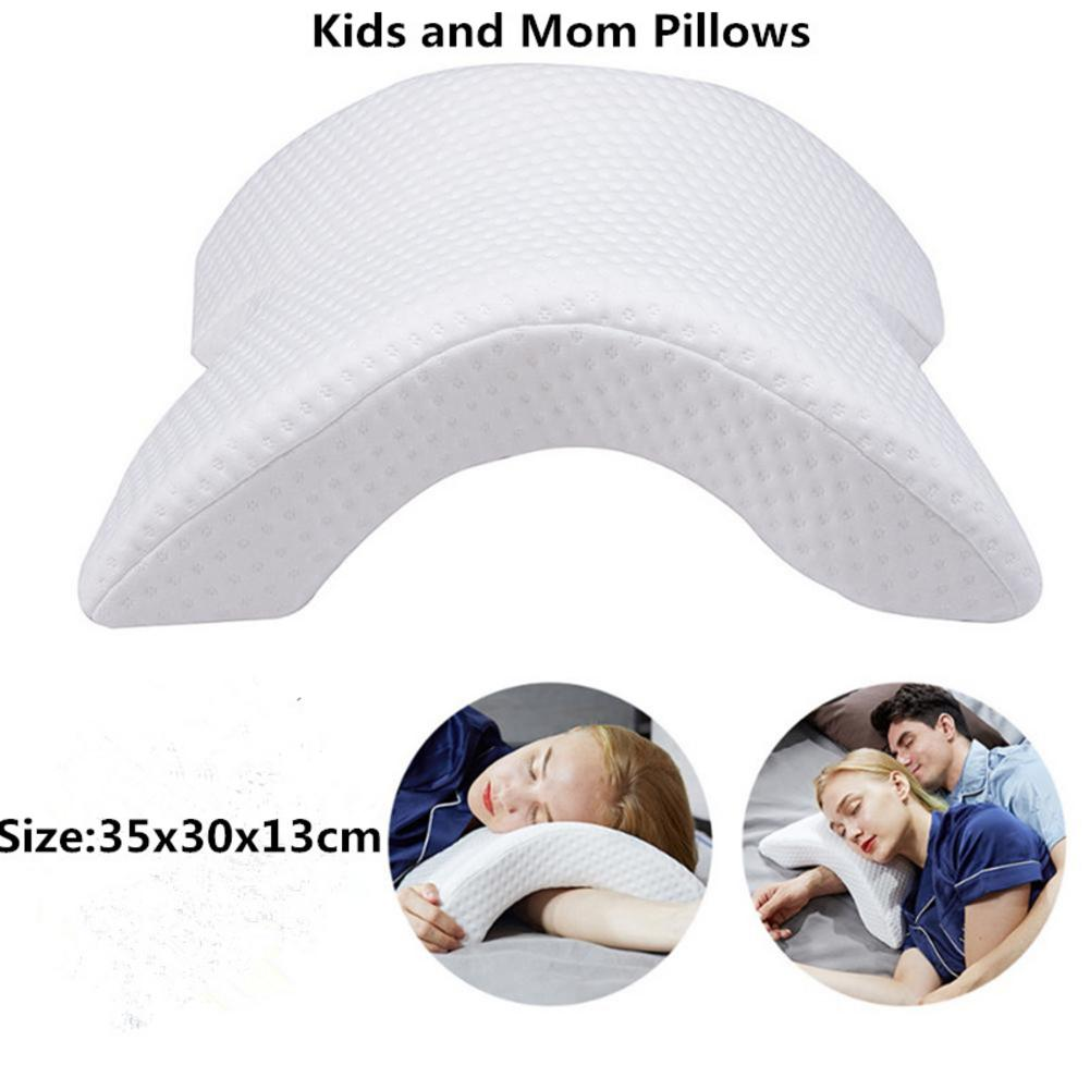 Memory Foam Pillow Pregnant Women Neck Protection Slow Rebound Memory Anti-pressure Hand Health Neck Couple Kids And Mom Pillow