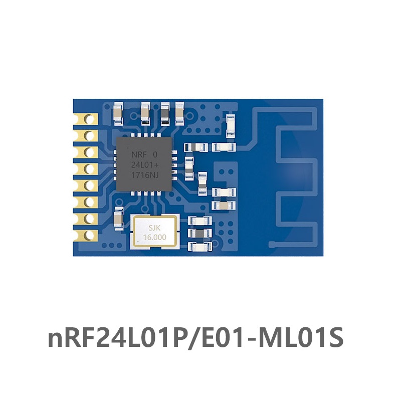 E01-ML01S SPI NRF24L01P 2.4Ghz 1mW PCB Antenna IoT Uhf Wireless Transceiver NRF24L01 PA LNA Transmitter Receiver Rf Module