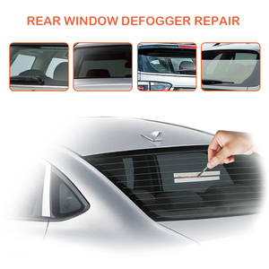 Image 3 - Car Rear Window Defogger Repair Kit For Car Scratches Broken Grid Lines Conduct Electricity Auto Back Window Repair Tool Sets