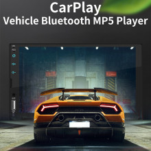 7 Swm-x2 polegada Hd Carro Tela Capacitiva Mp5 Anfitrião Carplay Integrado Player Tela Sensível Ao Toque Completa Carplay Mp5 Dvr Carro # YL6