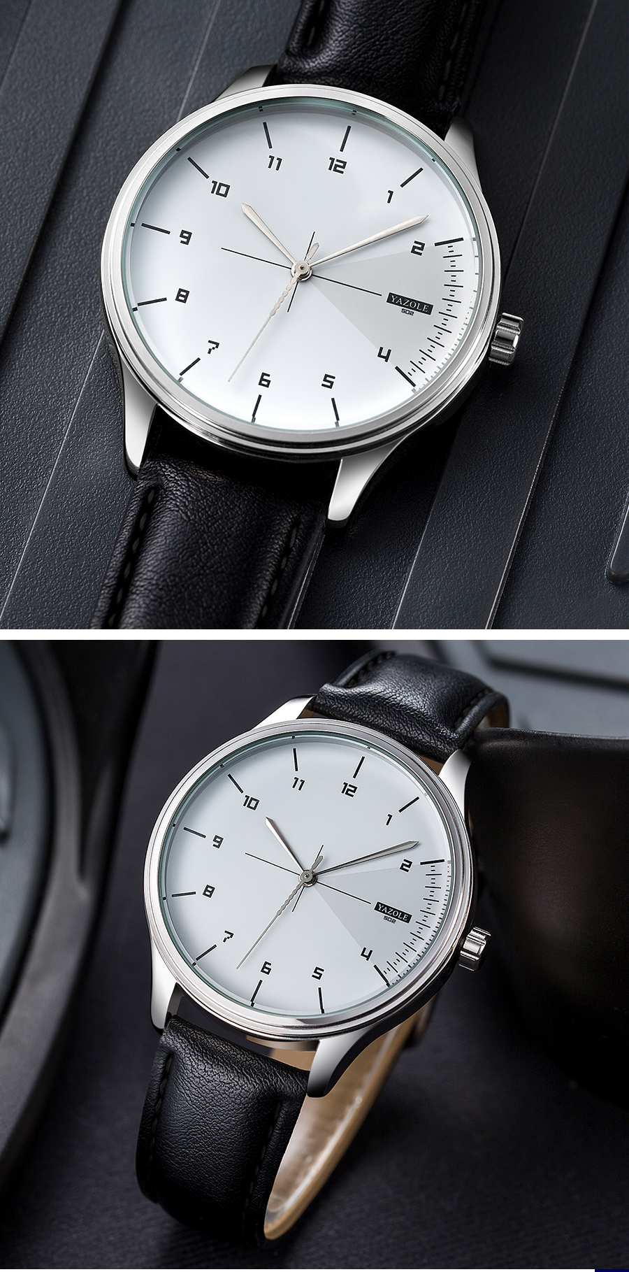 H94861c58f13f4bbab5c626ad090c4a9a1 Yazole Watch simple stylish business