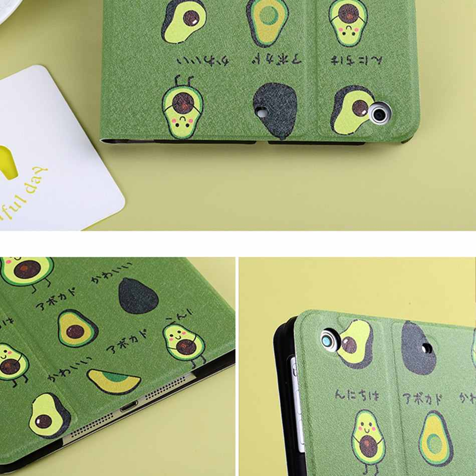 Axbety สำหรับ iPad Air Case ฤดูร้อน Delicious การ์ตูน Cola ชา Avocado สำหรับ iPad Air 1 5th Generation Flap Holster coque