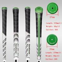Golf en 60X club de golf puños de hierro y agarraderas de madera mc4 tres color mediano 10 unids/lote