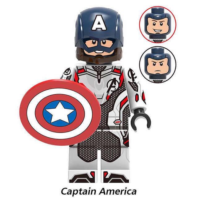 Disney brinquedos de Super Heróis Vingadores Thanos Endgame Homem De Ferro Máquina de Guerra homem aranha Capitão América Thor Hulk boneca de brinquedo Tijolos mais raro