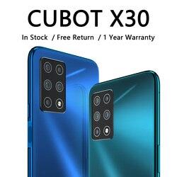 Чехол для CUBOT X30 мобильный смартфон 4g глобальная лента пять задний AI Камера 256GB смартфон Nfc 6,4 дюймFullview Дисплей Android10 сотовый телефон