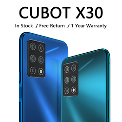 CUBOT X30 Mobile Smart Phone 4g Global Band Five Rear AI Camera 256GB Smartphone Nfc 6.4