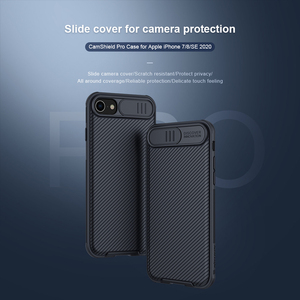 Image 2 - For iPhone SE 2020 SE 2 SE2 Case NILLKIN CamShield Case Slide Camera Protect Privacy Back Cover For iPhone 7 / 8