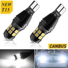 T15 W16W T16 LED Canbus Car Accessories Reserve Lights For Alfa Romeo 159 147 156 5 Giulietta Mito GT 166 Brera Gtv 164 Spider 2
