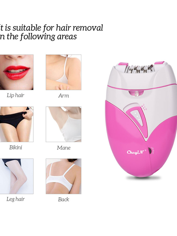Women Shaver Epilator Bikini Hair-Removal USB Electric Female Rechargable Lady Body
