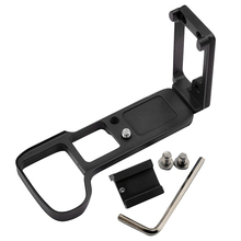 MOOL Vertical Shoot Hand Grip with Hot Shoe for Sony A9 A7 MARK III A7III A7RIII A7R3 Quick Release L Plate Camera Bracket Holde