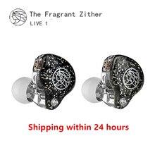 TFZ LIVE 1 HIFI 2 다이나믹 드라이버 이어폰 모니터 이어폰 소음 차단 귀마개 헤드셋 분리형 케이블 2pin 0.78mm