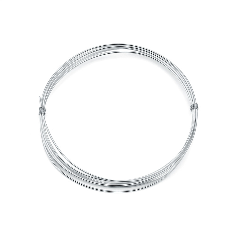 Jewelry Findings Sterling Silver 925 Plate Open Jump Ring In Box 3-9MM 2400Pcs