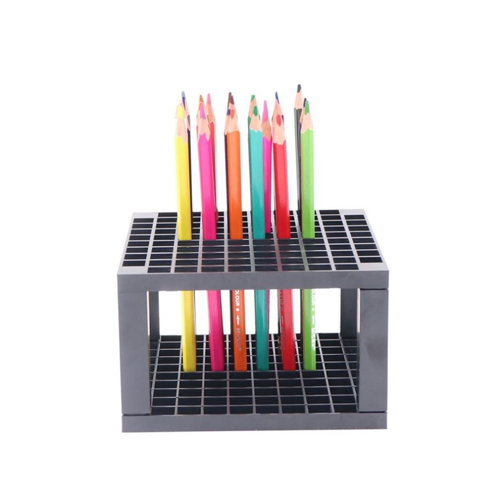 96 Hole Pencil And Brush Holder Artist Removable Pencil Holder For Pen Paint Brushes Colored Pencils Markers