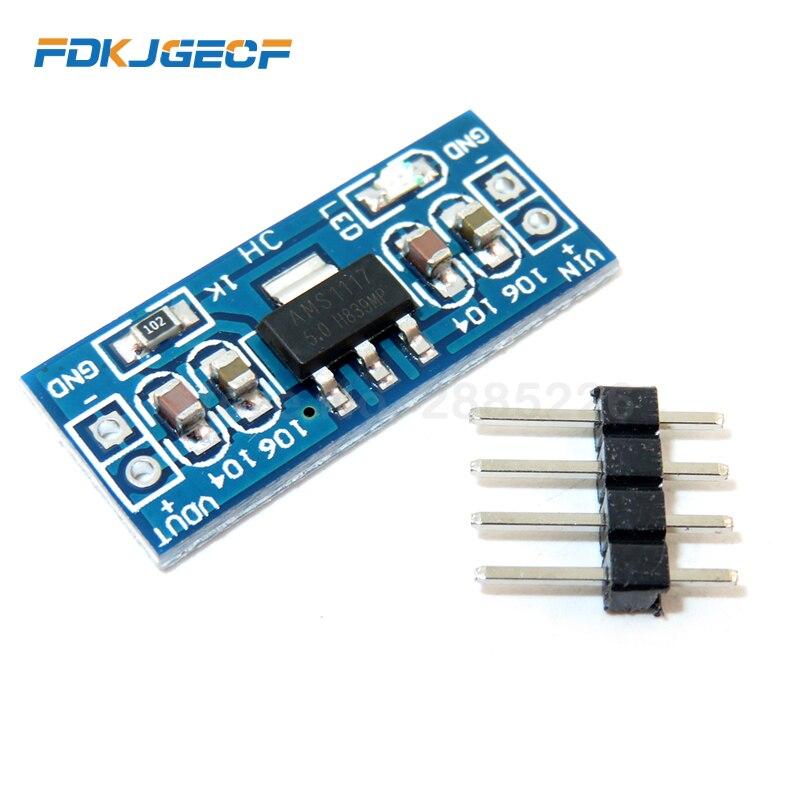 5Pcs AMS1117 3.3V 5V Power Supply Module AMS1117-5.0  AMS1117-3.3 Power Module AMS1117-5.0V AMS1117-3.3V