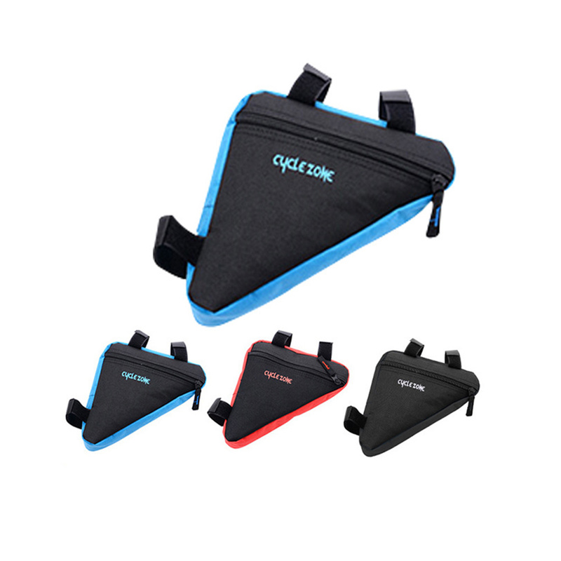 Image 3 - MTB Road bike front frame triangle bag bicycle beam bag bicycle tube bag bracket saddle bracket kit bicycle accessories-in Bicycle Bags & Panniers from Sports & Entertainment