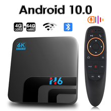 Hongtop Android 10,0 Bluetooth TV Box Google Stimme Assistent 6K 3D Wifi 2,4G & 5,8G 4GB RAM 64G Play Store Sehr Schnelle BoxTop Box