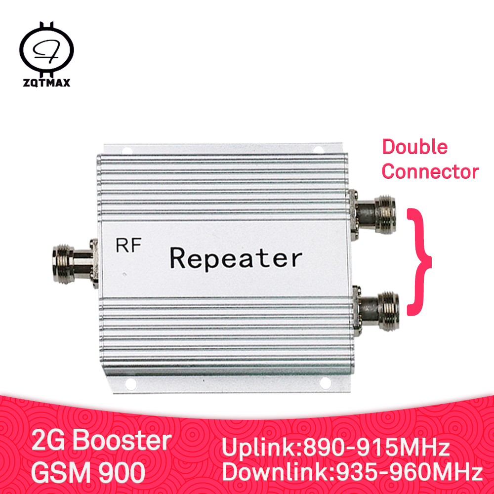 ZQTMAX 2G Signal Booster GSM Repeater Gsm Amplifier 900 Mhz Cell Phone Amplifier With Power Adapt