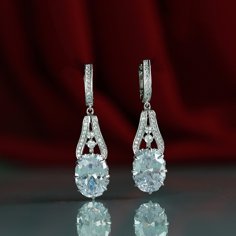 Wick Dolly nouvelles boucles d'oreilles gland peuvent balancer dames mode bijoux de mariage aristocratique 585 or rose zircon naturel bohème earri