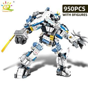 """Конструктор HUIQIBAO """"Робот-трансформер"""", 950 шт., 8 в 1 3"""