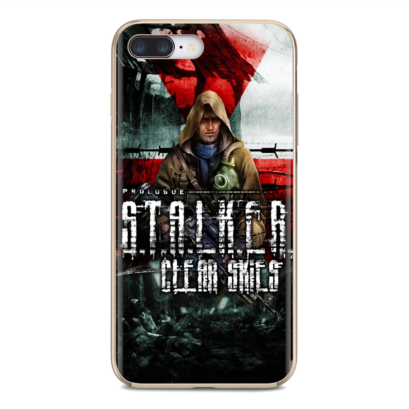 Buy Silicone Phone Case For Huawei Honor Y5 2018 2019 8S 9X Pro 20 10 10i Lite stalker clear sky Game Pattern(China)
