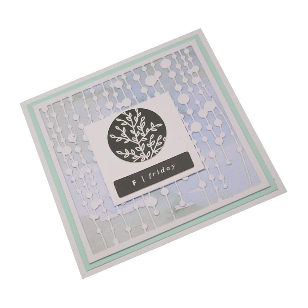 Curtain Pendant Metal Cutting Dies Stencil For DIY Scrapbooking Paper Card Craft