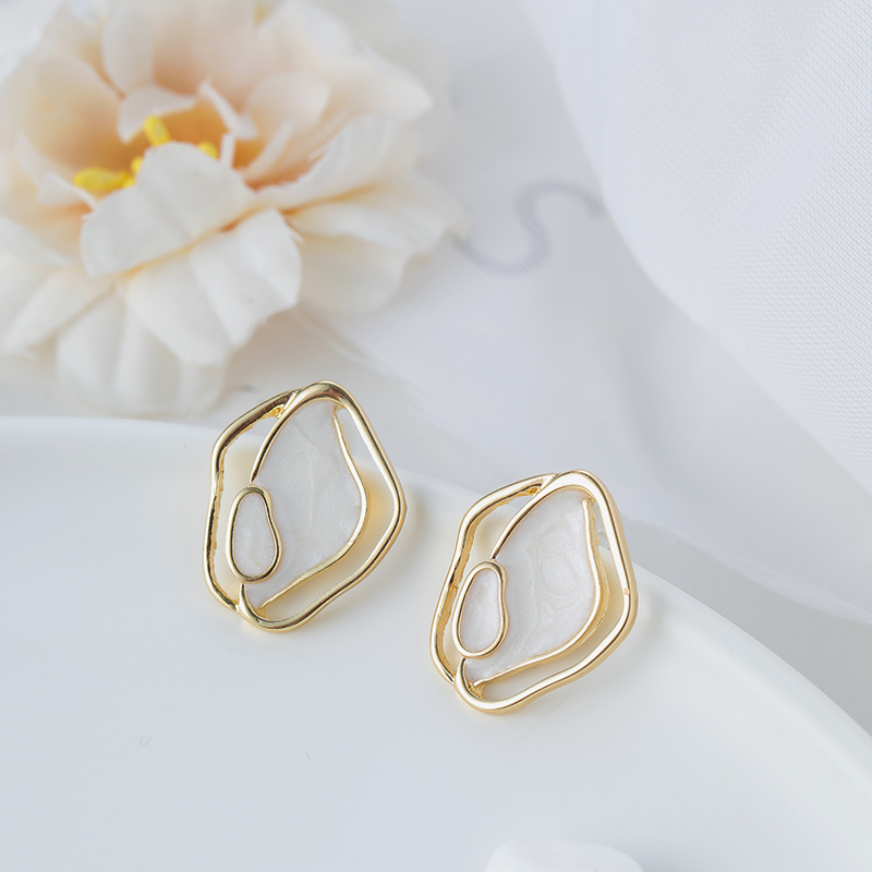 Shamir earrings new temperament simple geometrical irregular earrings girl jewelry gifts
