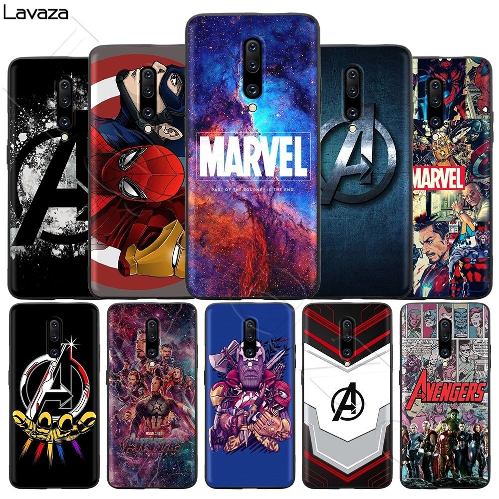 Lavaza marvel avengers Silicone Soft Case for OnePlus 7 Pro 6T 6 5T 5