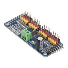 цена на PCA9685 16-Channel 12-bit PWM Servo Motor Driver I2C Module For Arduino Robot
