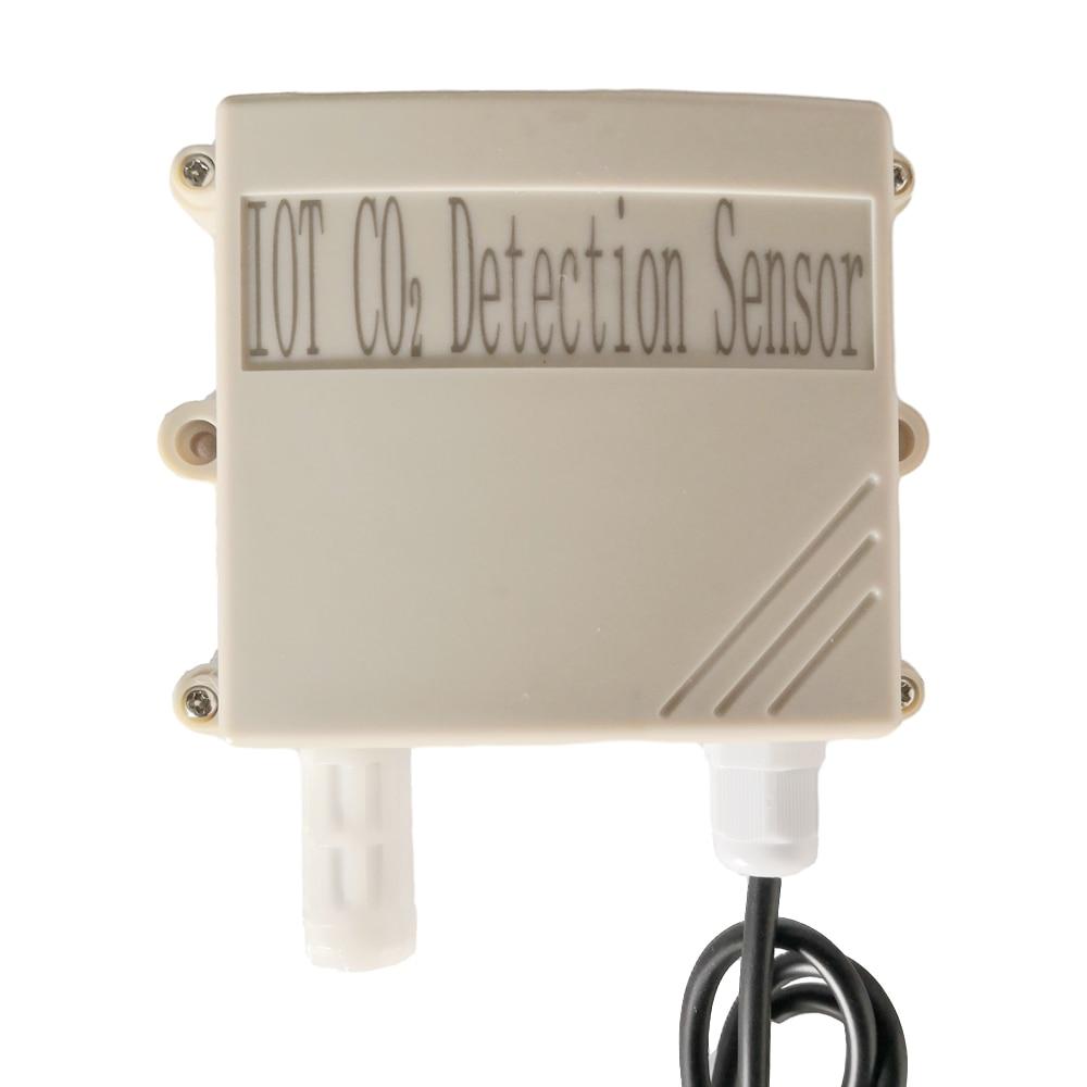 Wired Analog Co2 Sensor Can Detect Range 0-10000ppm Output Voltage Range Of 0-5V
