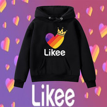 2020 new likee autumn winter coat cute kids boys girls clothes
