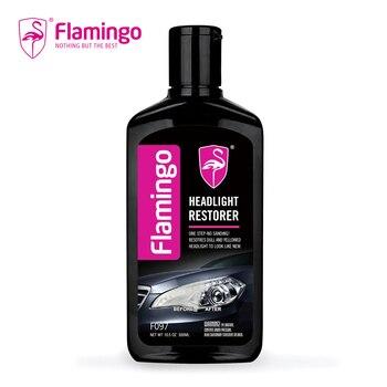 цена на 300ml Car Headlight Restorer Light Cleaner Headlight Headlamp Polish Restoration Kit For Auto Lamp Lense Brightener 10.5OZ