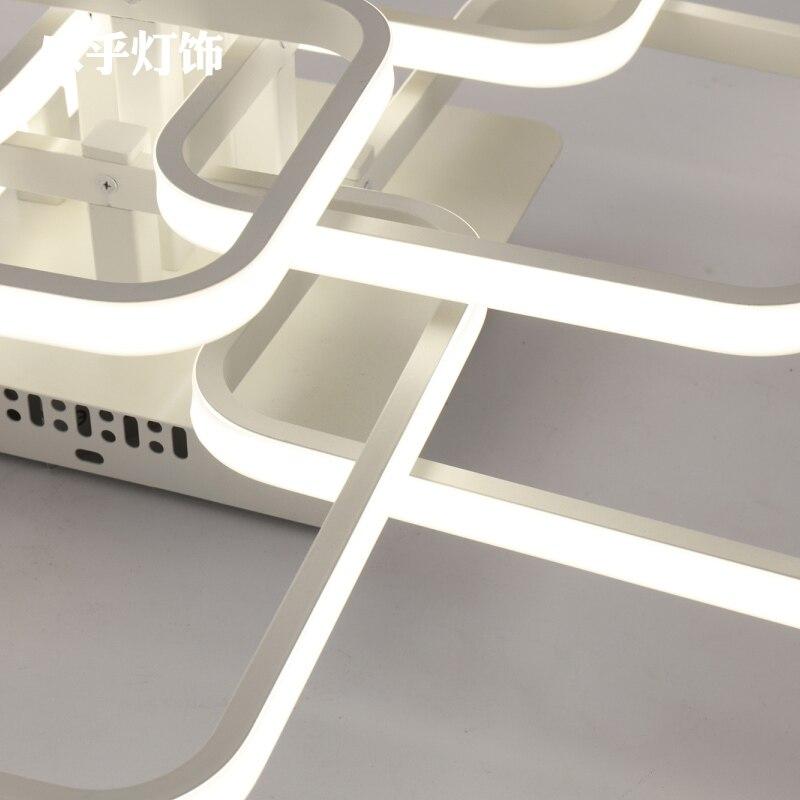 Nordic acrílico remoto cotrol luzes de teto