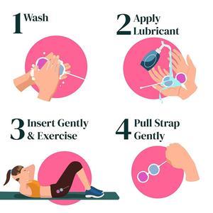 Image 5 - 3 adet/takım Kegel topları kadınlar için seks oyuncakları vajina sıkın egzersiz çin topları kadınlar için Ben Wa topları vajinal topları geyşa top