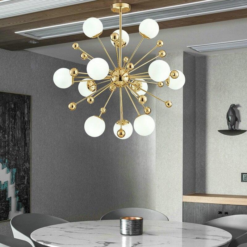 Modern Hanging Lamp Glass Ball  Restaurant   Living Room  Luminaire
