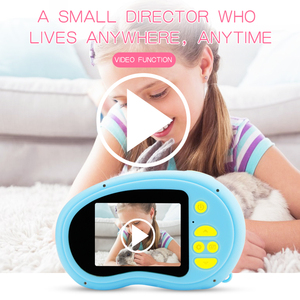 1080P Mini Cute Screen Digital Camera Portable Camcorder Children Toys Built-in Games for Toddler photography Gifts