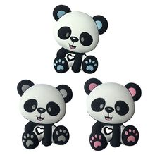 Rodent Panda Beads Baby Toys Silicone Teether Pacifier Teeth