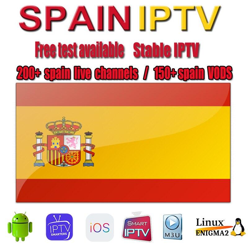 Iptv Spanien M3U abonnement 200 + Lokalen Kanäle Frankreich Deutschland portugal latino 1 Jahr Unterstützung für Android box smart tv enigma 2