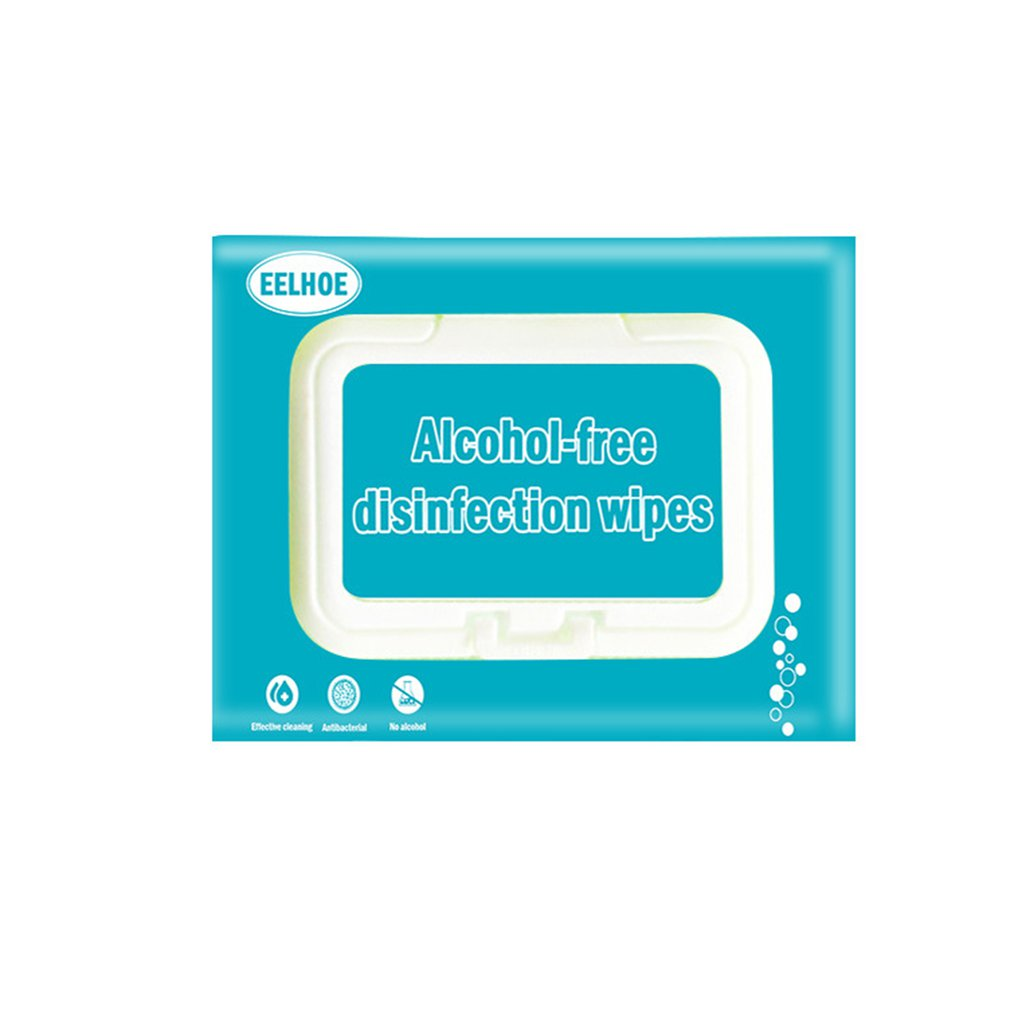 80-pump Disposable Hand-cleaning Antibacterial Wipes