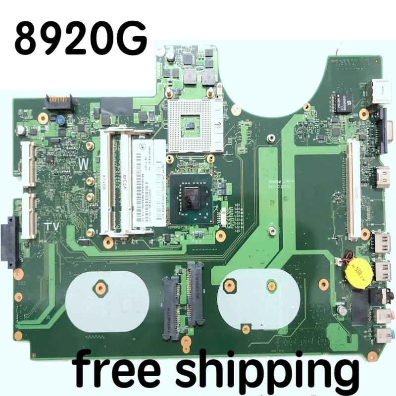 6050A2184601-MB-A03 For acer 8920G Laptop <font><b>motherboard</b></font> MBAP50B001 <font><b>motherboard</b></font> 100%tested fully work image