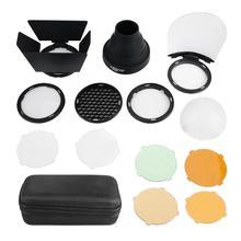 Для Godox AK-R1 Snoot цветной фильтр отражатель улей диффузор для Godox AD200 и H200R Отражатель Диффузор