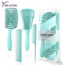 YBLNTEK – ensemble de peignes démêlants pour cheveux bouclés, brosse pour cheveux bouclés, accessoires de barbier, soins capillaires, outils de coiffure