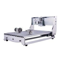 Фрезерный станок с ЧПУ 3040 рама набор 6040 Гравировальный фрезерный станок кровать 3020 резьба по дереву инструмент с поворотной осью