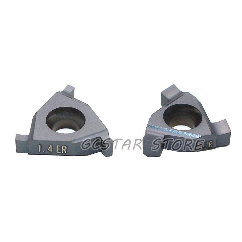 16ER IL 0.7  0.8  0.9  1.0  1.1  1.2 1.3  1.4 1.5 1.6 1.7 1.8 1.9 16IR EL LDA 16IR Grooving Carbide Inserts Shallow Groove Tool