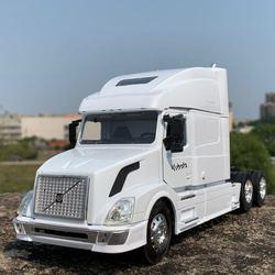 1:32 Американская модель тяжелого грузовика, модель высокой модели грузовика, коллекция моделей автомобилей из сплава, бесплатная доставка