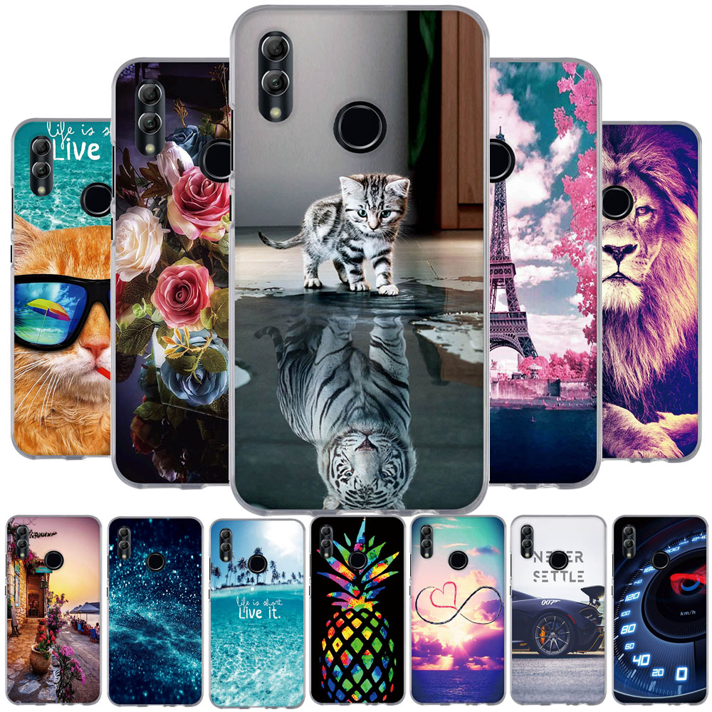 TPU For Huawei P Smart 2019 Case Silicone Bumper For Huawei Honor 10 Lite Capa For Huawei P Smart 2019 POT-LX3 POT-LX1 6.21