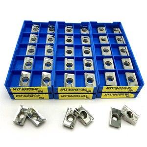 Image 1 - APKT1135 APKT1604 APGT1604 SEHT1204 RCGT1204 RCGT10T3 di Alluminio Fresatura utensile di tornitura CNC tornio strumenti di Duro Della Lega di strumento di Fresatura