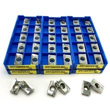 APKT1135 APKT1604 APGT1604 SEHT1204 RCGT1204 RCGT10T3, herramienta de fresado de torno CNC, herramientas de torno, herramienta de fresado de aleación dura