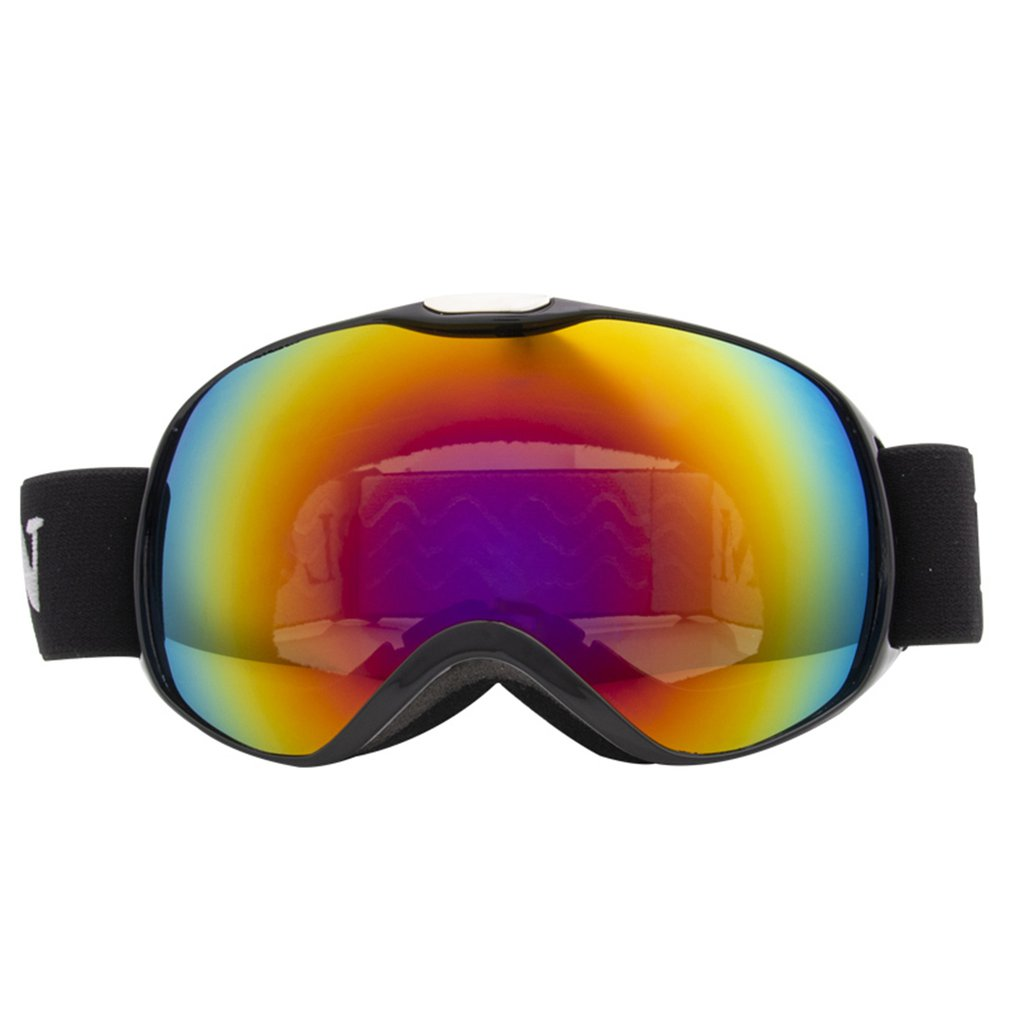 Children's Spherical Double Layer Anti Fog Windproof Anti Ultraviolet Skiing Glasses