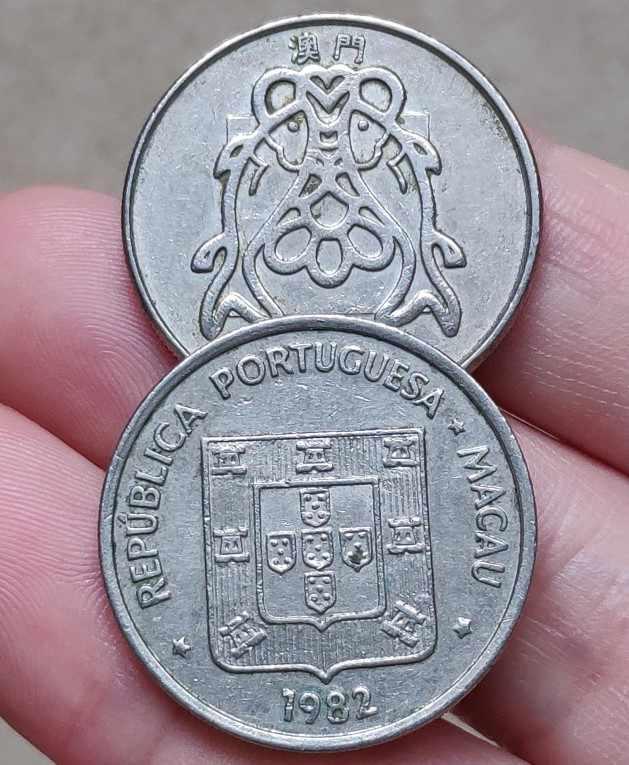 26 มม.มาเก๊า,100% แท้ Comemorative เหรียญ,คอลเลกชันต้นฉบับ
