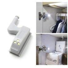 Sensor Light Inner-Hinge Lamp Wardrobe Cupboard Closet Under-Cabinet LED Kitchen Home